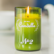 Candella - No 2 # Lemongrass & Ginger Candle